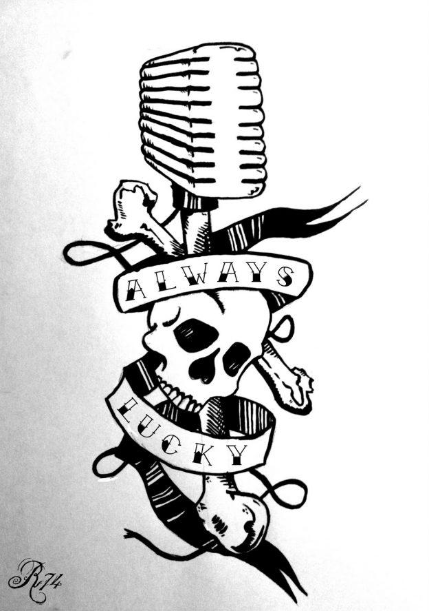 Comment dessiner une t te de mort - Symbole tete de mort ...